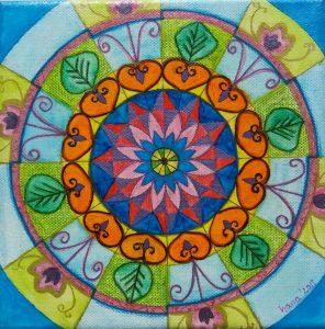 Mandala NA NOWY ROK