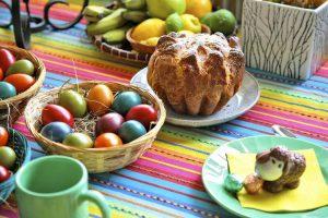 Śniadanie Wielkanocne z widokiem na Śnieżkę